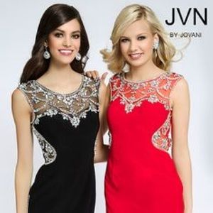 JVN by Jovani Red Homecoming dress